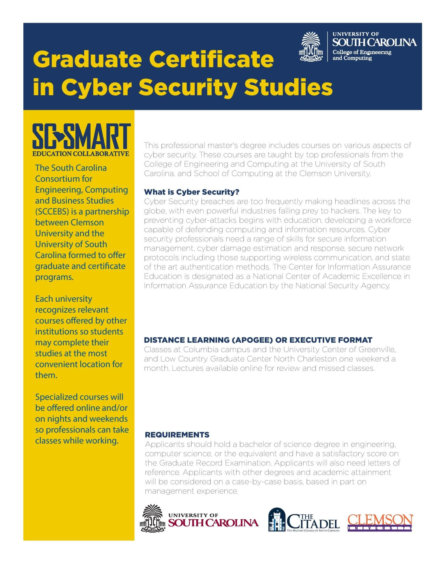 Cyber Security Certificate University Center