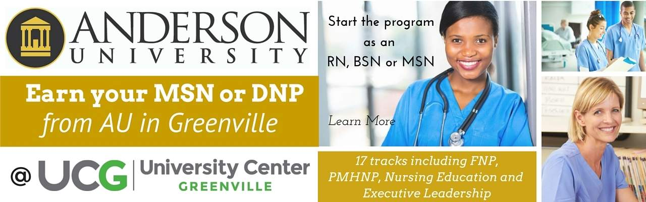 Anderson University Nursing Greenville