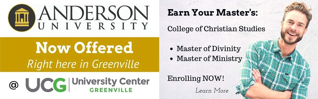 Masters Divinity Anderson University