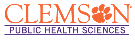Clemson public health sciences